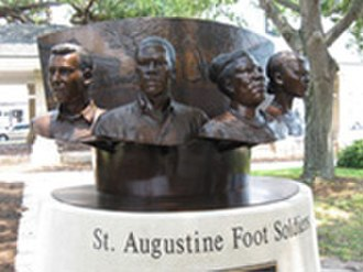 St. Augustine Foot Soldiers Monument - St. Augustine Foot Soldiers Monument