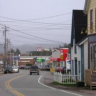 St. Peter's, Nova Scotia - Image: St Peters downtown