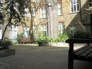 St Ann Blackfriars - St Ann's Churchyard in 2008