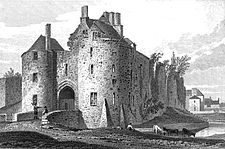 St Briavels Castle Victorian print