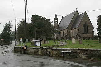 Stramshall - Image: St Michael's and All Angels at Stramshall