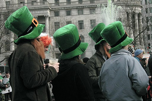 St Patrick's Day -- Irish Hats and Beards 4888181455
