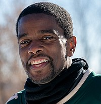 St Paul Mayor, Melvin Carter at Red Bull Crashed Ice, St Paul MN (39736635272) (cropped).jpg