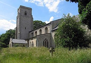 St Peter's Church, Hockwold - Image: St Peter's Church, Hockwold cum Wilton, Norfolk geograph.org.uk 855895
