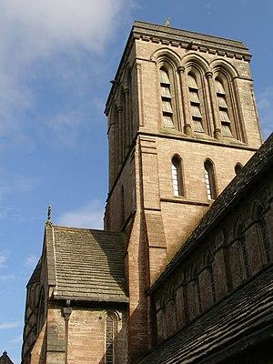 Kingston, Purbeck - Image: St james church tower kingston dorset