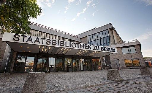 Staatsbibliothek zu Berlin Eingang