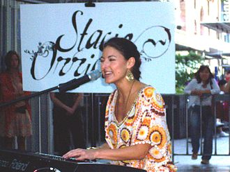 Stacie Orrico - Image: Stacie Orrico Brisbane 2006