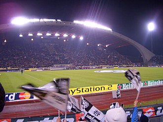 Udinese Calcio - Dacia Arena before a Champions League match