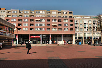 Capelle aan den IJssel - Stadsplein square in Capelle