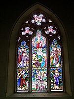 File:Stained Glass Window, All Saints Church, Broad Chalke - geograph.org.uk - 772644.jpg