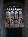 Stained glass window in St Laurence's Church, Norwich.jpg