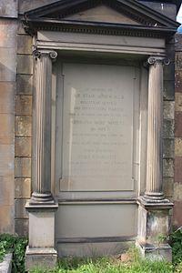 Stair Agnew's grave, Dean Cemetery.JPG