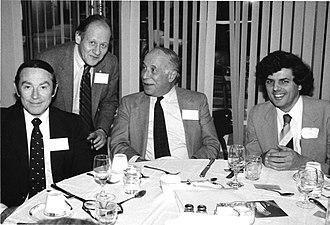Philip J. Klass - Image: Stanford 1984 CSICOP Conference