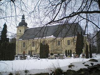 Staré Město (Bruntál District) Village in Moravian-Silesian Region, Czech Republic