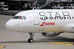"Star Alliance (Swiss International Air Lines) Airbus A320-214 HB-IJO ""Verbier"" (29313425703).jpg"
