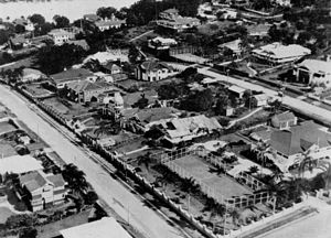 Ascot, Queensland - Image: State Lib Qld 1 107088 Aerial view of the Riverview Terrace area of Ascot, Brisbane, ca. 1930
