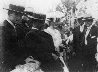 Yandina, Queensland - Patrons at Yandina race day, ca. 1905