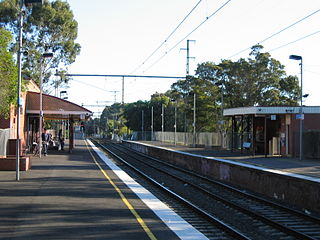 Jewell railway station railway station in Brunswick, Melbourne, Victoria, Australia