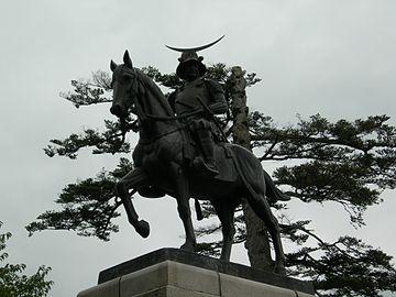 Statue of Date Masamune1 DSCN5347 20080823