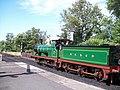 Steam locomotive at Sheffield Park station - geograph.org.uk - 1395094.jpg
