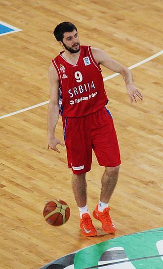 Stefan Marković - Marković with Serbia in 2013
