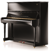 Steinway & Sons upright piano, model K-132, manufactured at Steinway's factory in Hamburg, Germany.png