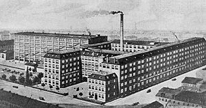 Steinway & Sons - Steinway's factory in Hamburg, Germany, 1915