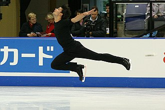 Split jumps - Image: Stephane Lambiel 2006 Skate Canada