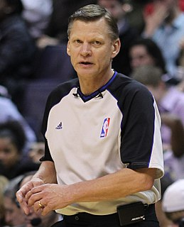 Steve Javie American basketball referee