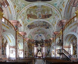 Styriarte - Interior of the church of Stift Rein