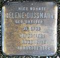 Stumbling block for Helene Dusemann (Great Greek Market 125)