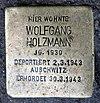 Stolperstein Bölschestr 25 (Frihg) Wolfgang Holzmann.jpg