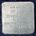 Stolperstein Breite Str 29b (Panko) Max Oppenheimer.jpg