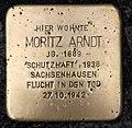 Stolperstein Essener Str 11 (Moabi) Moritz Arndt.jpg