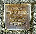 Stolperstein Fritz Felsenthal - Aachen (2).JPG