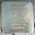 Stolperstein Giesebrechtstr 16 (Charl) Alexander Wolfson.jpg