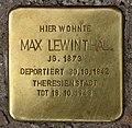 Stolperstein Motzstr 29 (Schön) Max Lewinthal.jpg