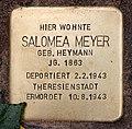 Stolperstein Richard-Strauss-Str 30 (Grune) Salomea Meyer.jpg