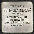 Stolperstein für Edita Slatnerová.JPG