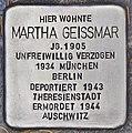 Stolperstein für Martha Geissmar (Heidelberg).jpg