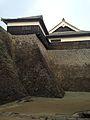 Stone Walls of Kumamoto Castle 20140222-5.jpg
