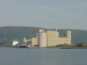 Port of Port Talbot - The stone processing plant