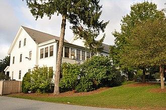National Register of Historic Places listings in Stoneham, Massachusetts - Image: Stoneham MA Almshouse