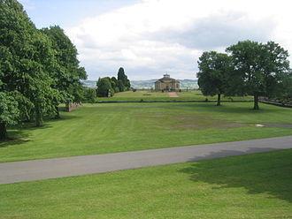 Stonyhurst College - Public gardens and Typographia Collegii