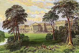 Stowe House - Stowe circa 1880
