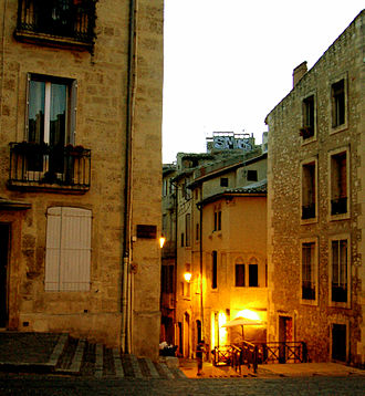 Languedoc-Roussillon - Street in Montpellier