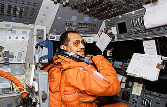 Charles Bolden - Bolden on the flight deck of Discovery during STS-60
