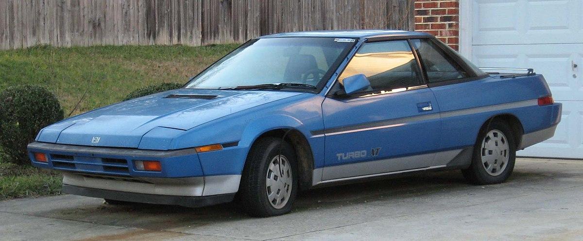 Subaru XT – Wikipedie