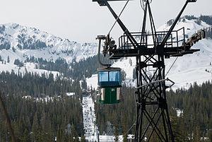 Sugar Bowl Ski Resort - Image: Sugar Bowl Ski Resort Gondola