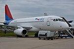 Sukhoi Superjet 100 (Sky Aviation) (9635996807).jpg